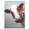 Free Art Sample Cow Art Oil Painting for Sale