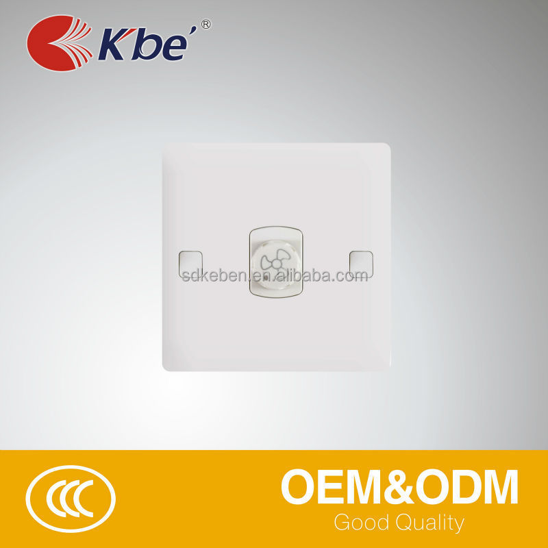KB3 SERIES Fan Regulator dimmer switch socket with on-off function
