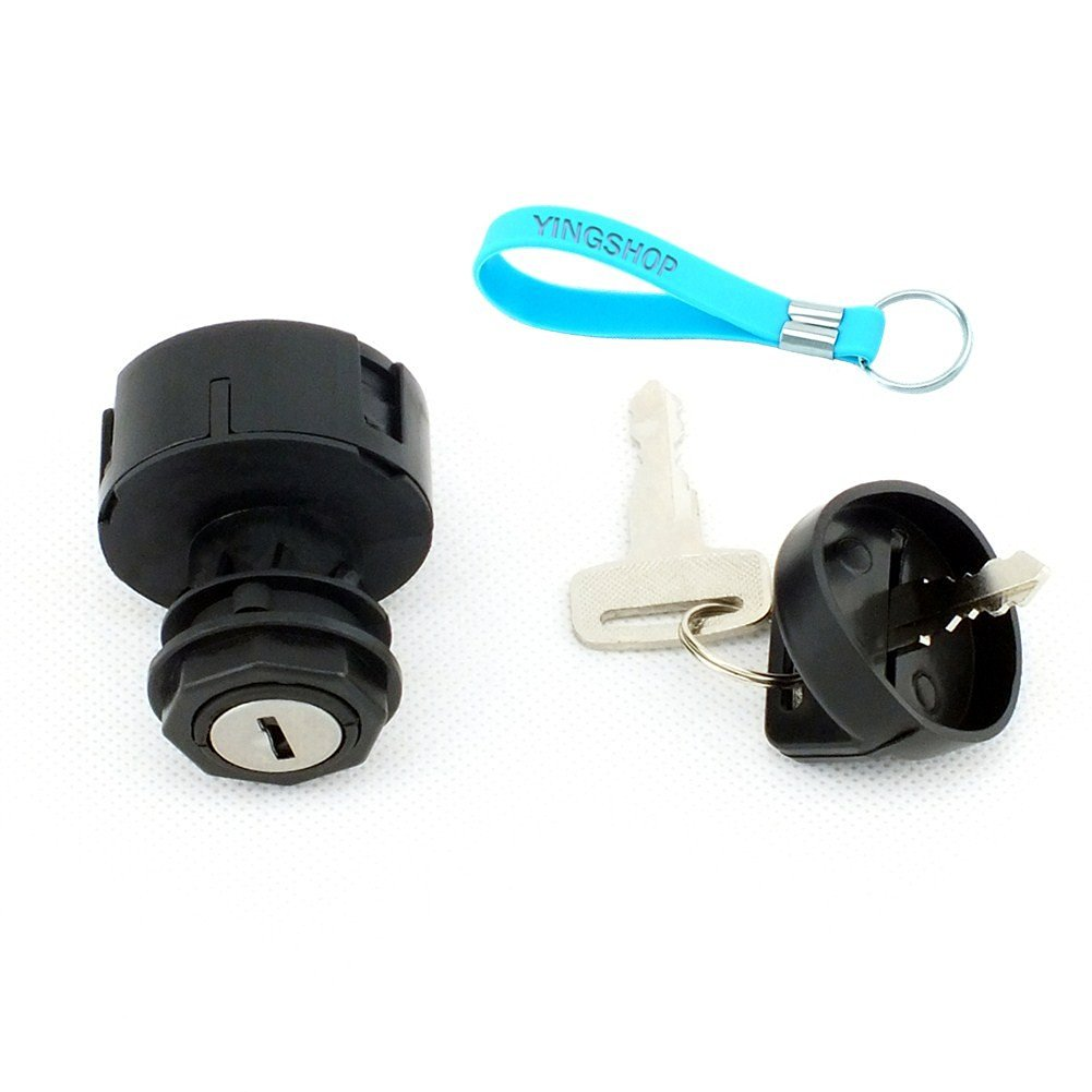 Yingshop Ignition Switch with Key fits Polaris 2000-2001 ATV 250 400 500 Scrambler Sportsman Mopeds ATVS Bicycles Scooters MAGNUM 325 2X4 4X4 HDS with OEM Part Number 4012163 4110264
