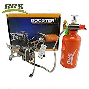 BRS Portable Fuel Outdoor Backpacking Furnace Oil/Gas Multi-Use Stove Camping Stove Picnic Gas Stove Cooking Stove BRS-8
