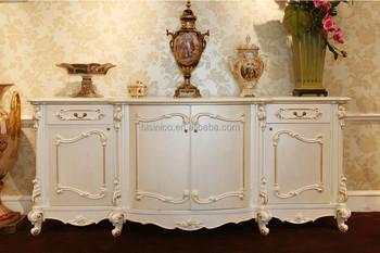 Francais Classique Elegant Buffet Armoire Antique 4 Portes En Bois Magnifique Sculpture Placard Buffet Salle A Manger Armoire De Stockage Buy