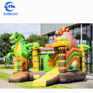 Aomiao Factory 0.55mm PVC inflatable bounce house/ bouncy castle/ bouncer for Kids