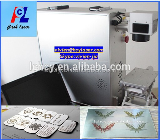 China hot sale!!! High precision cell phone 10W 20W 30W fiber laser marking machine lowest price
