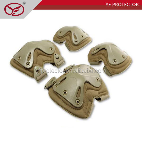 wholesale multicam durable outdoor tactical military knee and elbow pads