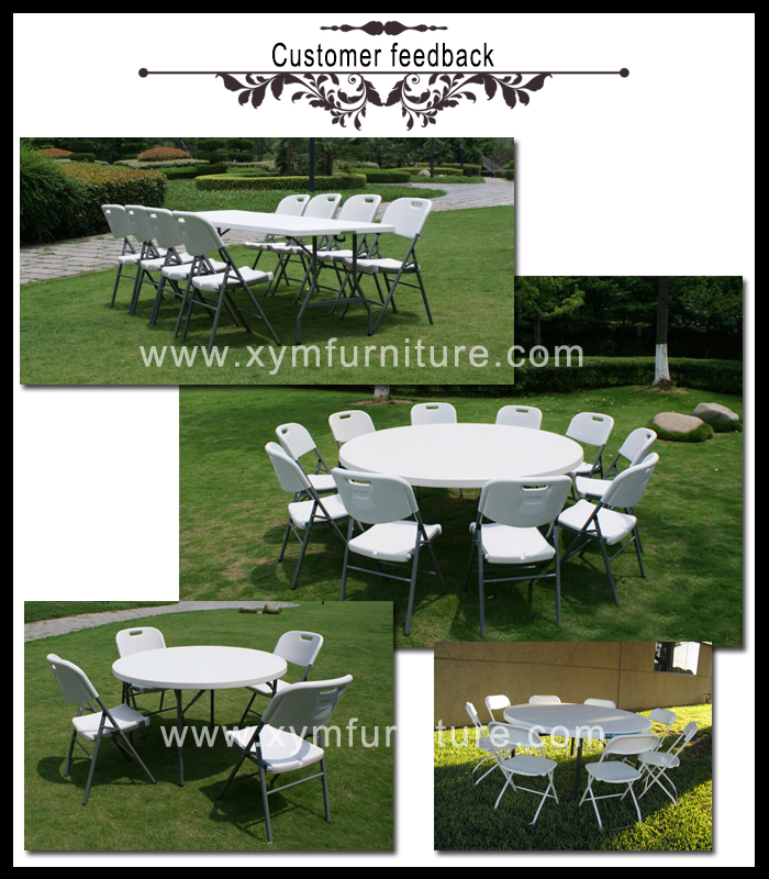 cheap price plastic round restaurant table