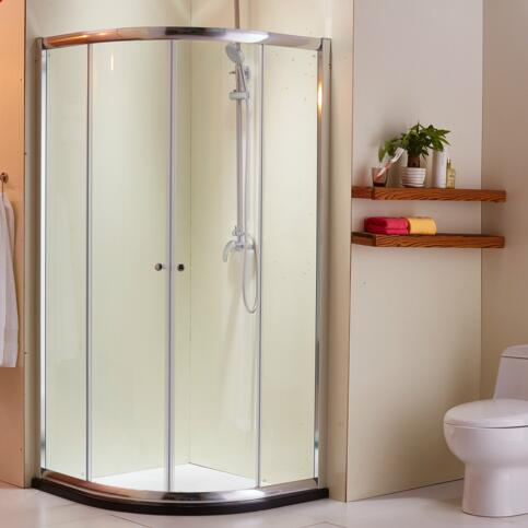 Glass Corner Shower Enclosure Glass Corner Shower Enclosure