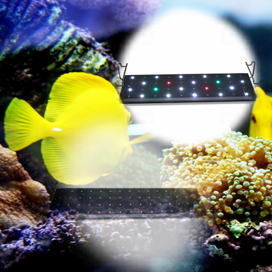 4ft 224w Freshwater Aquarium Fish Tank Thunder Storm Color ...