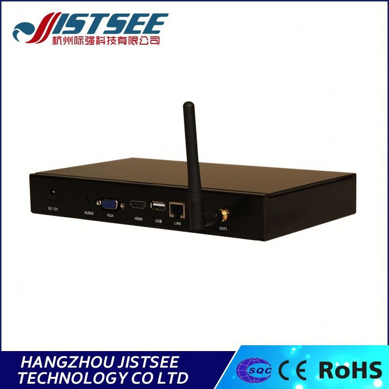 No pop-up Ads and notice 1080P video floor standing lcd advertising player