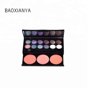 Factory Price Popular Design 15 Color Natural Custom High Quality No Name Cosmetics No Label Makeup No Logo Eyeshadow