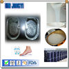 2 part high elasticity Silicone for making Insoles