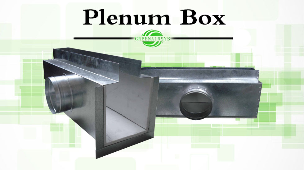 Hvac System Air Duct Mounted Accessories Sound Attenuator