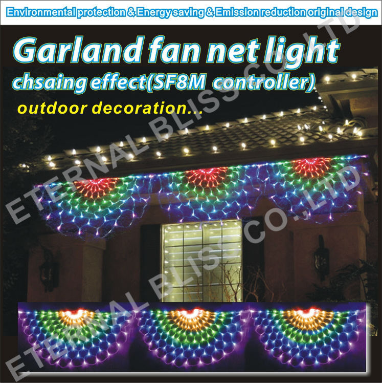 Led swag lights christmas decoratingspecial christmas swag lights outdoor aloadofball Choice Image
