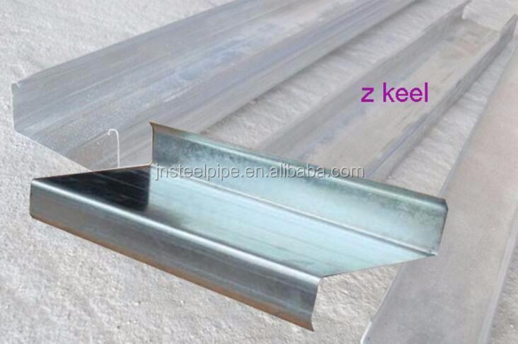 Metal Materiales De Construcción Para Techos Precio Canal De Acero ...