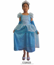 Fancy Cinderella Princess Dresses For Kids Carnival And Birthday Party