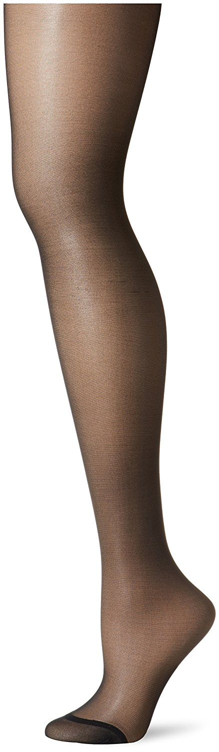 67a7a6d08 Get Quotations · Berkshire Women s Plus-Size Queen Silky Sheer Control Top  Pantyhose 4489