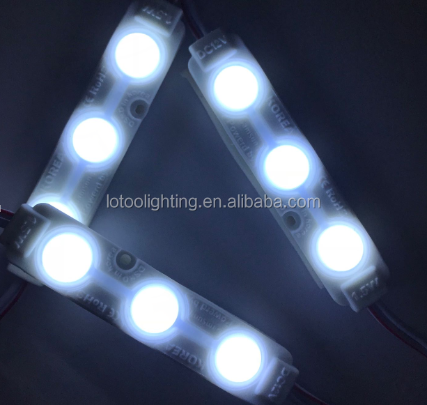 12v smd 5730 Samsung injection led module with lens USD0.056
