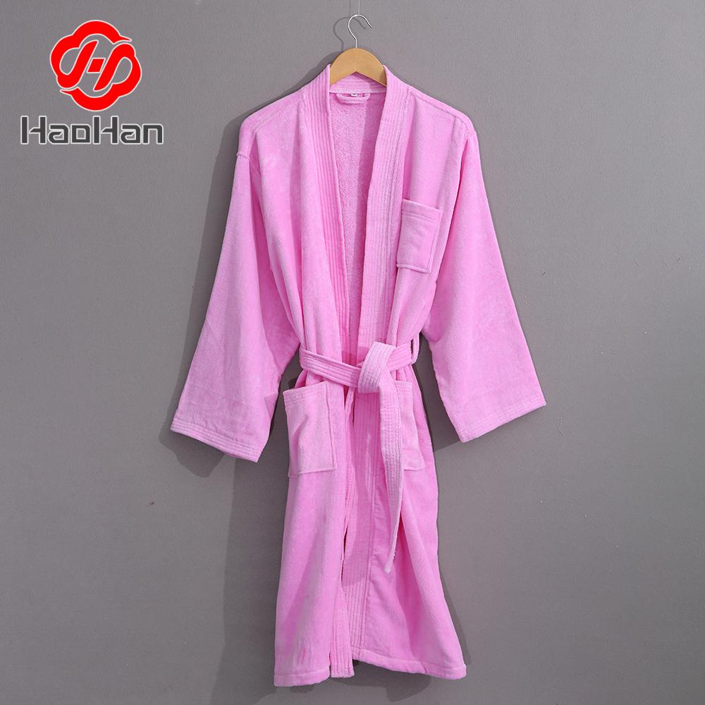 100%cotton Terry Cloth Hotel Bathrobes 26fa854a8