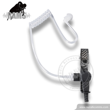 Acoustic Tube Earphone Easy Connect Acoustic Tube Assembly For Hygiene And Multiple Users Reinforced Earphone Clip
