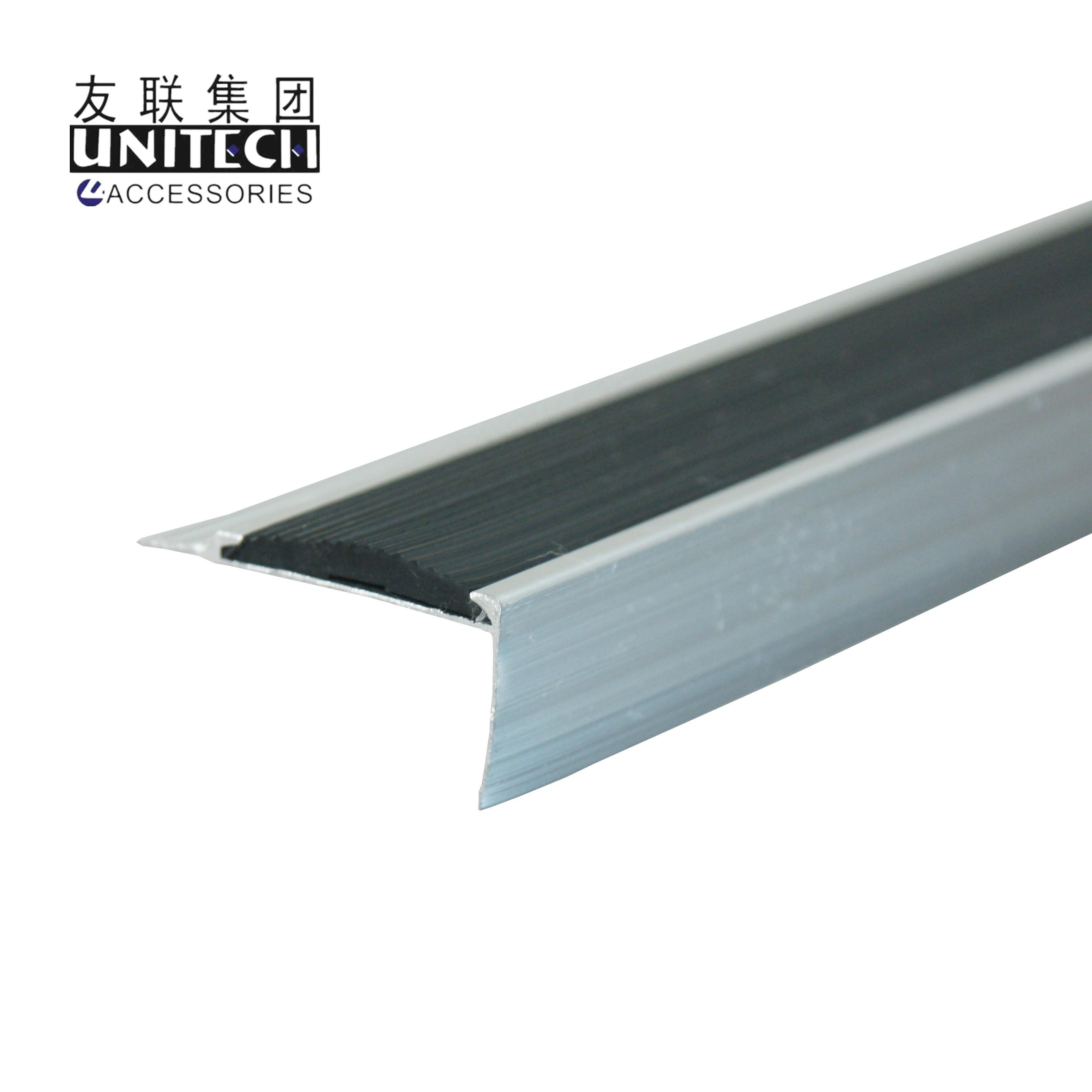 Aluminum Stair Edging Step Nosing Strip Metal Tread Nose Buy Aluminum Stair Edging Step Nosing Strip Metal Tread Nose Product On Alibaba Com