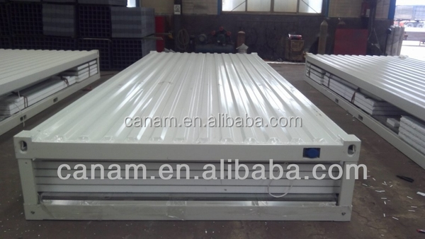 CANAM-economic cheap portable prefabricated eps sandwich panel dome house for living