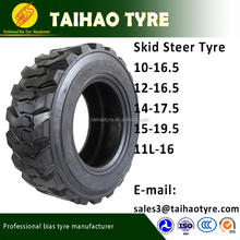 skid loader tires 10-16.5 12-16.5 14-17.5 11L-16 SKS-1 Skid Steer Industrial Tyre cheap
