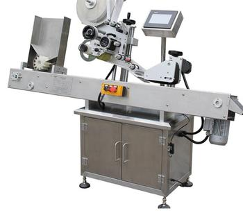 Automatic Horizonta Garbage bag roll wrapping labeling machine