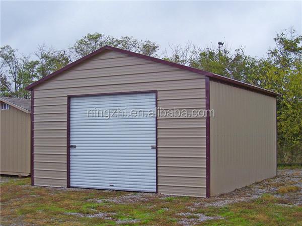 Metal roof portable garage and Sheet metal garage ...