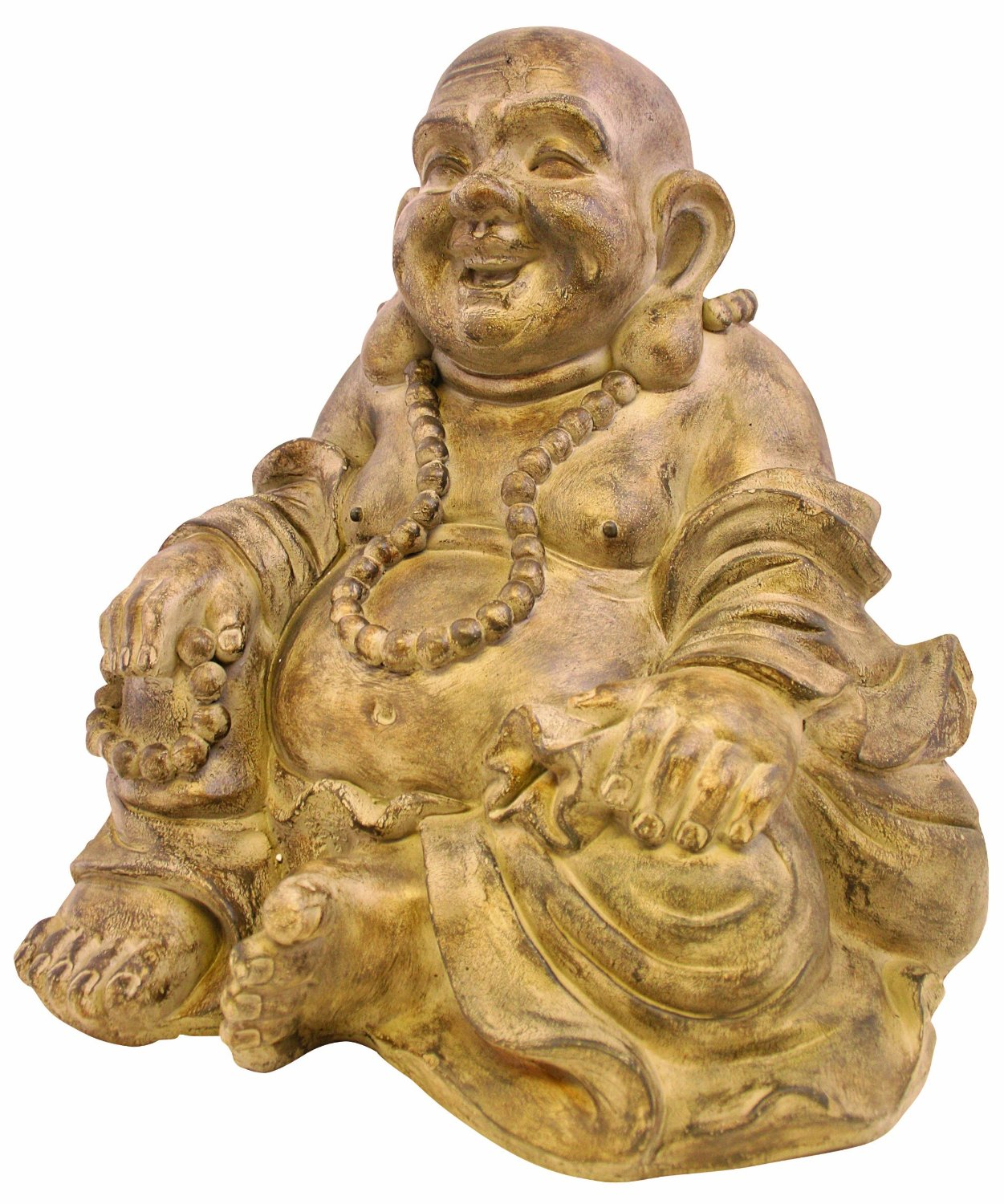 Kelkay 4876 Stonetouch Large Sitting Buddha Statue (Discontinued by Manufacturer)