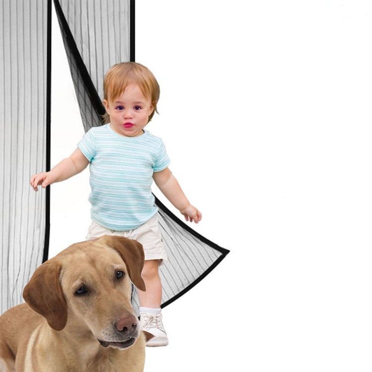 Unionup Magnetic Door <strong>Screen</strong> with Heavy Duty Magnets, Magnet Door <strong>Screen</strong> Curtain Mesh Fits Door Up to 36&quot; x 82&quot; Max