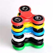 Fidget hand spinner Toys Sensory Fidgets Autism ADHD Anti Stress Funny gifts Plastic EDC Rotation Long Time in stock