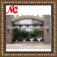 modern outdoor sample of house gates
