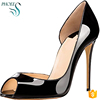 Phoees New Arrival Sexy Woemen High Heel Shoes Lady Party Wear Patent Leather Shoes For Women