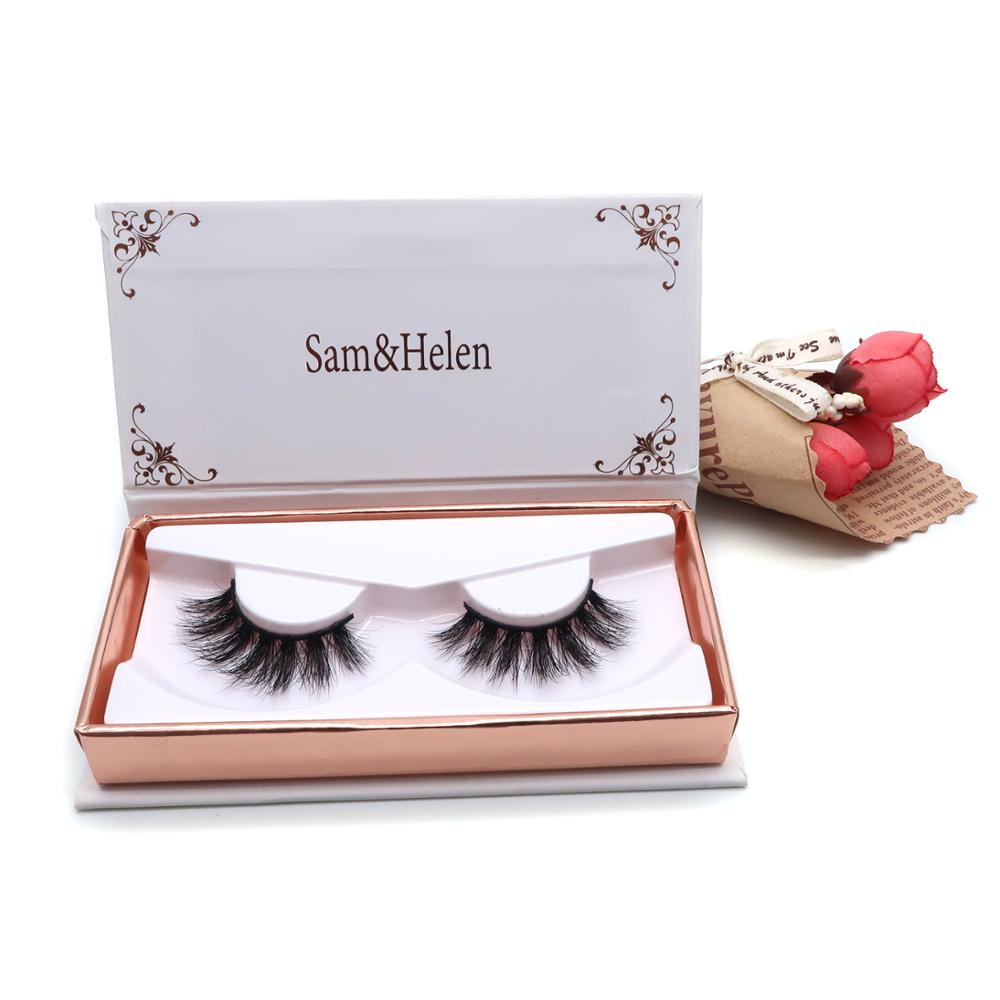 Worldbeauty charming styles private label 3D mink hair eyelashes 3d mink eyelash