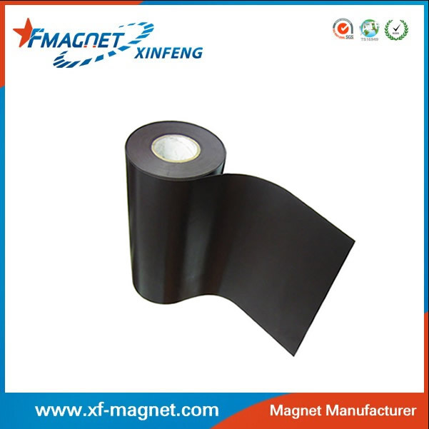 Flexible rubber magnet roll a side can be printed