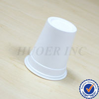 White Plastic Tea Cup