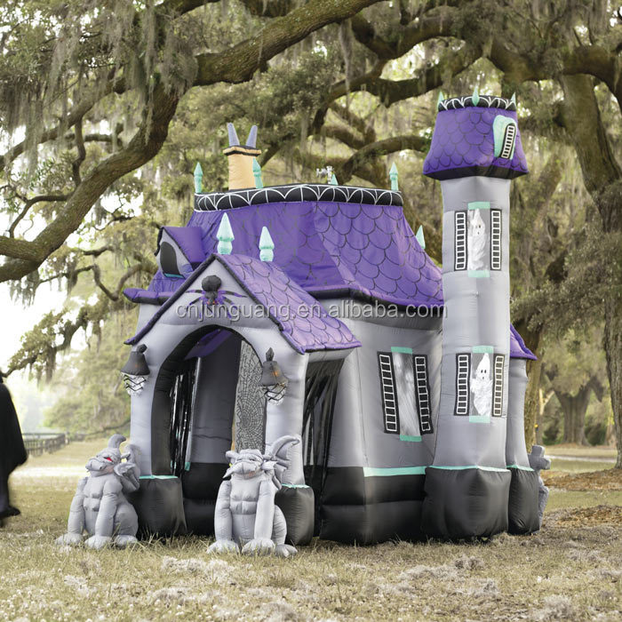 2017 Hot sale halloween inflatable haunted house