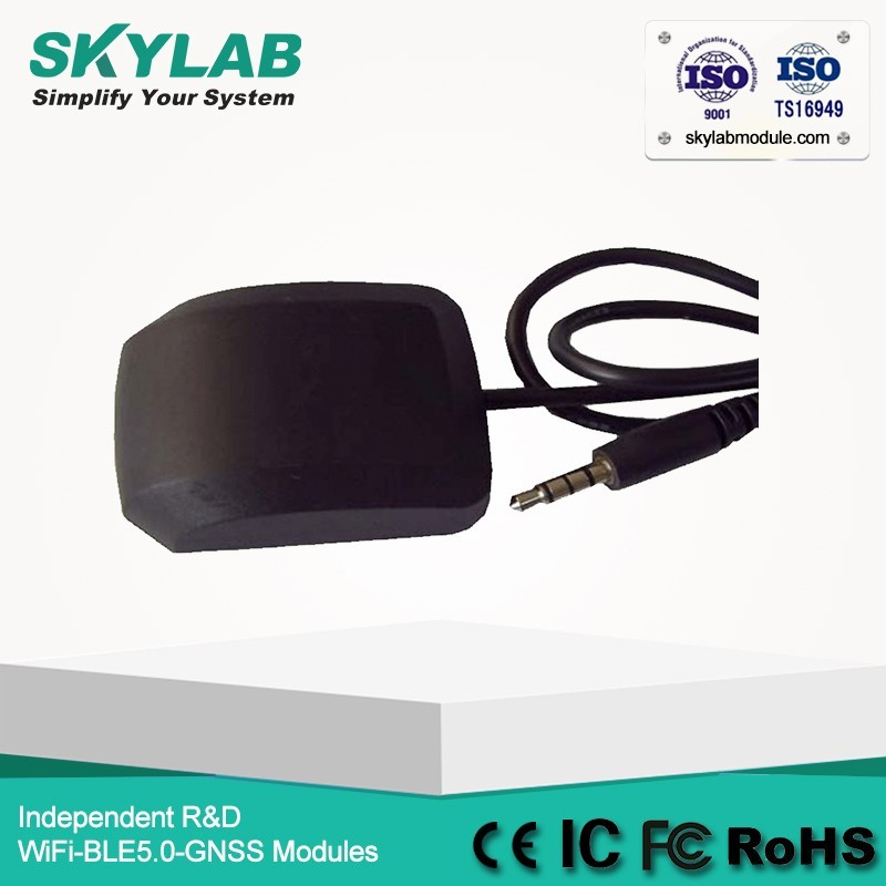 SKYLAB GPS mouse SKM51 Audio connector with embedded GPS antenna and built-in MT3339 chip for vehicle navigation & monitor