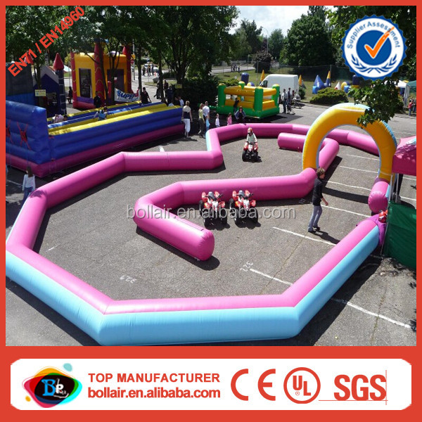 New kids RC cars inflatable race track