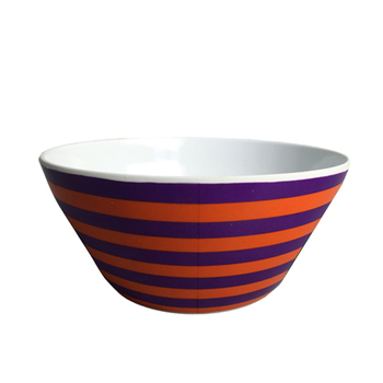 6'' Eco-friendly food grade colorful cereal bowl can be used for market gift
