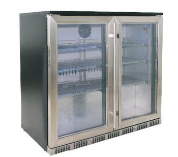 144l Hinged Door Or Sliding Under Back Freezer Fridge Beer Bar Cooler