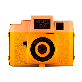 Holga 120NGLO Mini Plastic Retro Lomo Medium Format Film Camera Instant Camera Glow in Dark