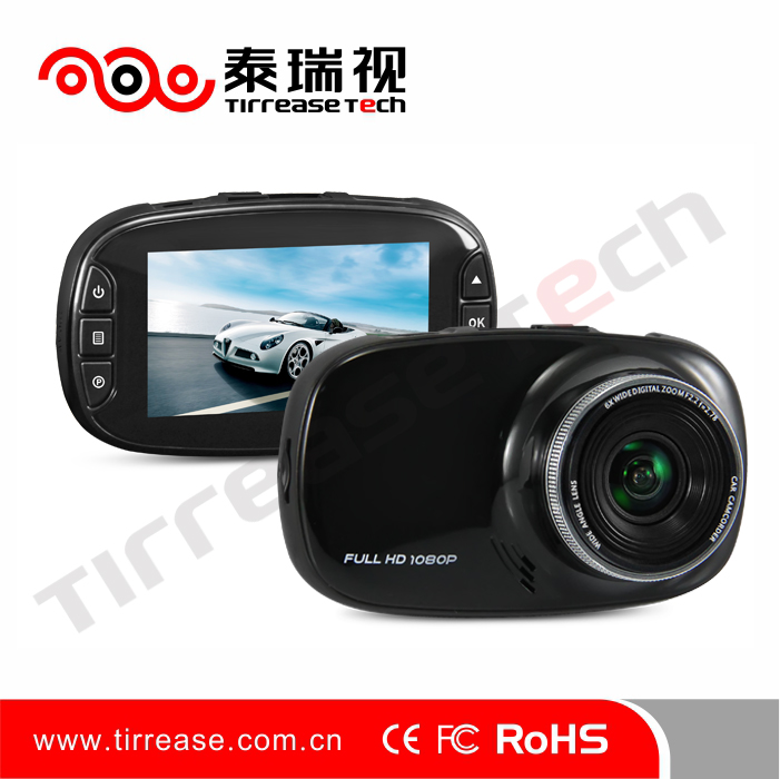 2016 Motion trigger 1080p HD dash cam car dashboard camera