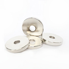 N52 Permanent large rare earth ring neodymium magnets 45sh wholesale