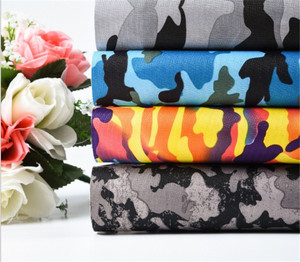 900D oxford fabric Camouflage layer waterproof fabric