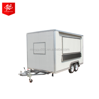 zhicheng Beautiful design shawarma food cart truck van for sausage and ice cream