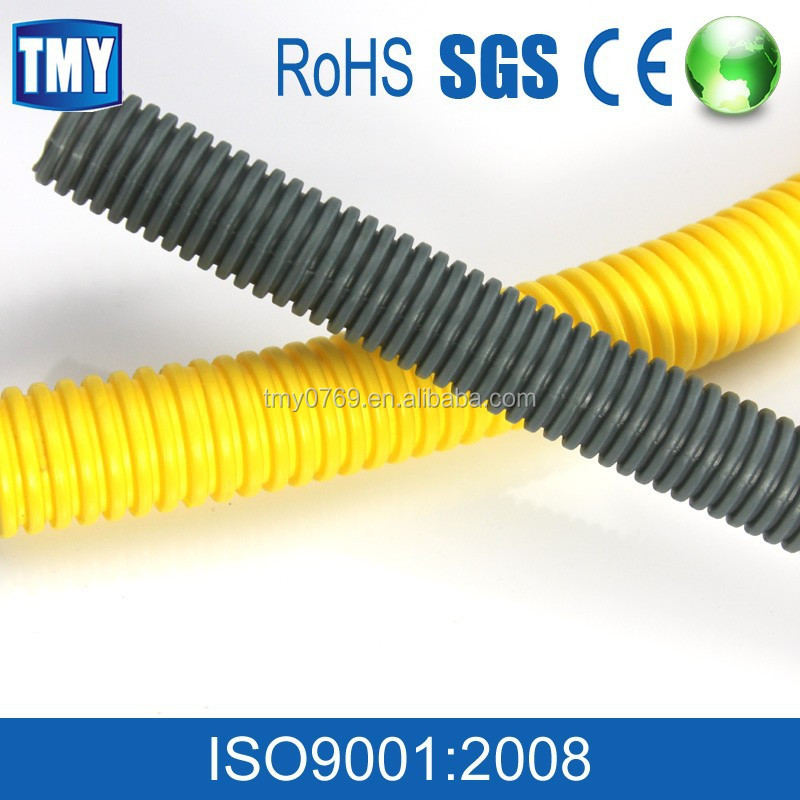 corrugated cable plastic flexible soft tubes