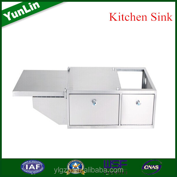 famous for high quality raw materials acrylic kitchen sink