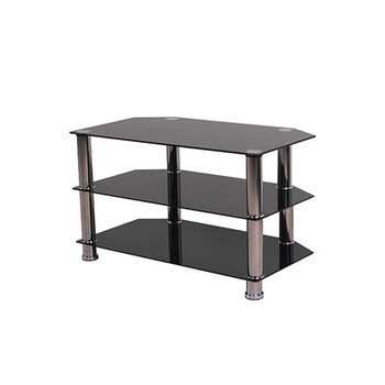 Design Tv Meubel Glas.Simple Modern Design Tempered Glass Black Tv Stand Buy