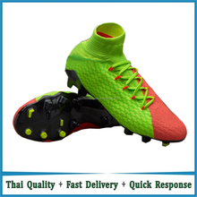 Outdoor high ankle soccer boots football shoes