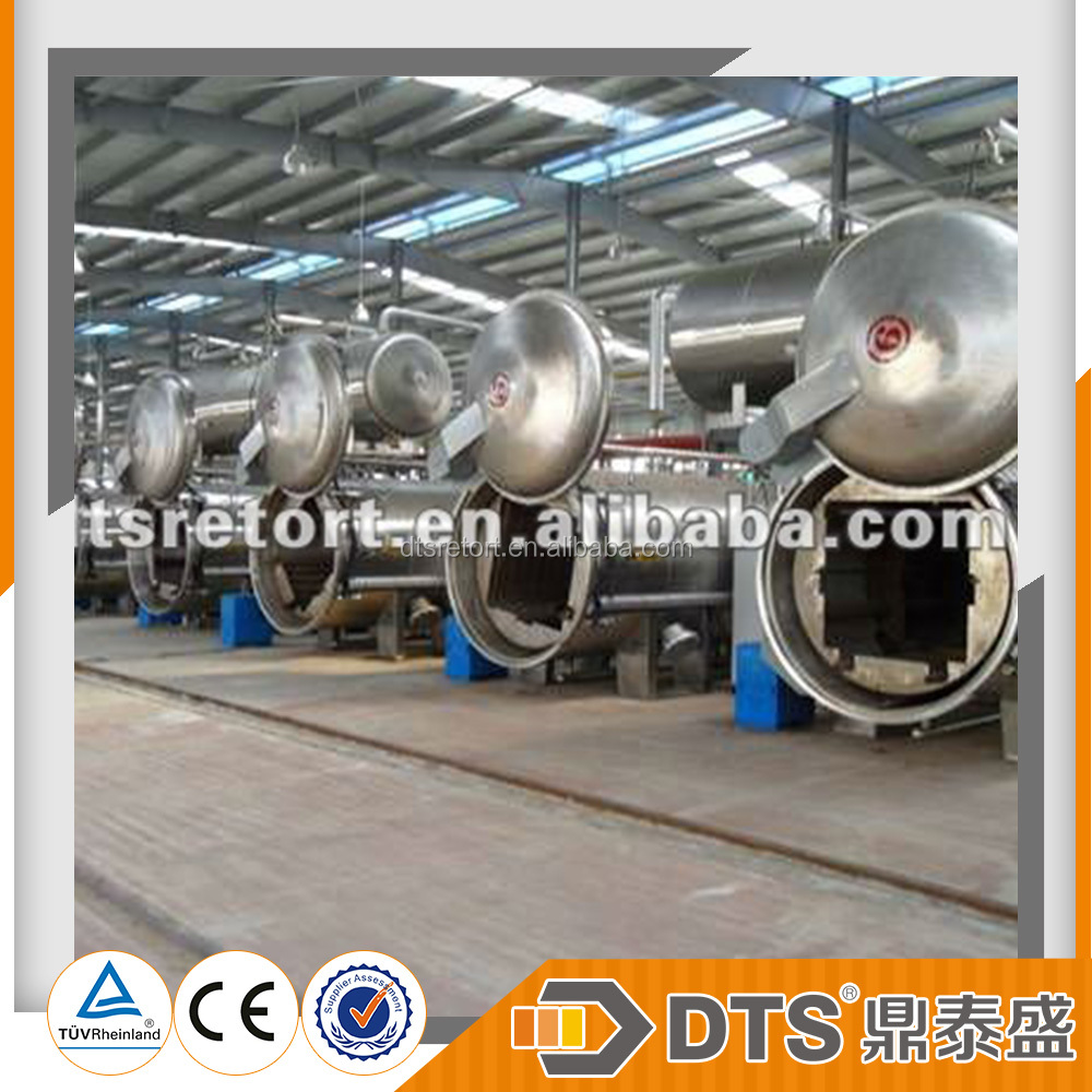 DTS-XZ Series Full Automatic Canned Food Processing Rotary Autoclave